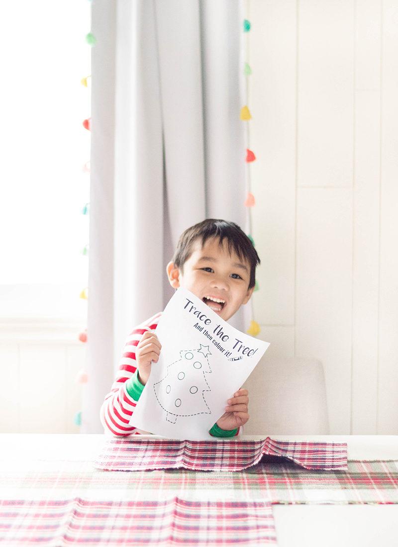 Preschool Christmas Worksheets