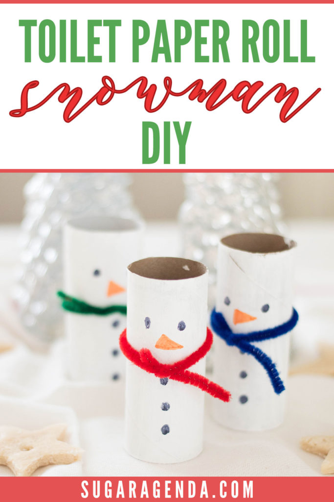 Check out this holiday boredom buster and make your very own Toilet Paper Roll Snowman. Your kids will have a blast putting together this holiday DIY!