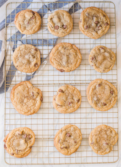 Ladies and gents, here it is: our best ever chocolate chip cookie recipe. Let's feast! #chocolatechipcookierecipe